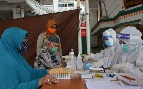 Rapid Test Massal Di Surabaya Dan Sidoarjo Ratusan Warga Reaktif Covid 19