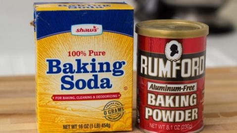 Baking Soda Dan Baking Powder Sama
